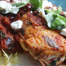 Bacon-Feta Stuffed Chicken