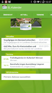 Emsland Kalender - screenshot