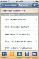 Screenshot of Zwoor Event for Android Phones