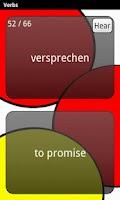 Screenshot of Learn German Deluxe