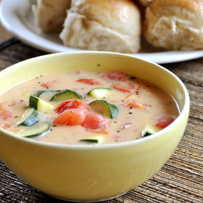 Summer Garden Vegetable Soup