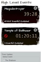 Screenshot of Guild Wars Temple Dragon Timer