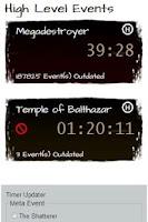 Screenshot of Guild Wars Temple Dragon Timer