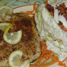 Potato Crusted Snapper