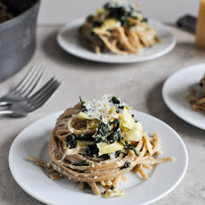 Spinach and Artichoke Linguine