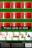 Screenshot of Deuces Wild Video Poker FREE