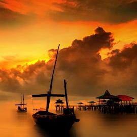 morning by Sam Hidayat - Instagram & Mobile Android ( pantai, kenji, surabaya )