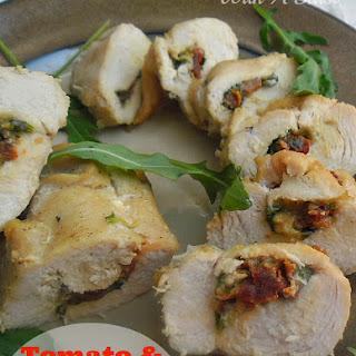 Chicken Stuffed Mozzarella Sun Dried Tomatoes Recipes
