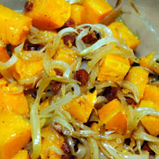 Winter Squash with Caramelized Onions