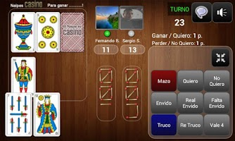Screenshot of Truco Online Multiplayer