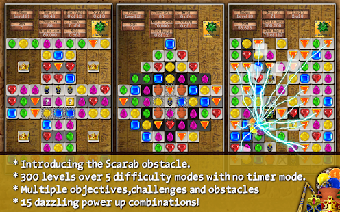Jewel Drops - Match three - screenshot