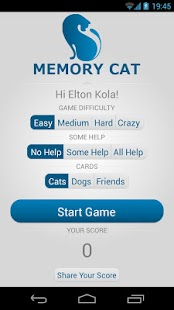 Memory Cat - screenshot