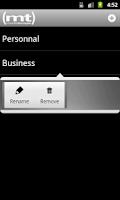 Screenshot of (mt) AccountCenter