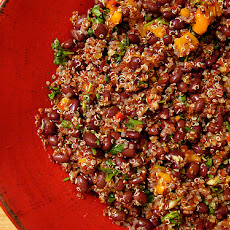 Spicy Black Bean and Quinoa Salad