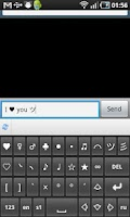Screenshot of SymbolsKeyboard (trial)