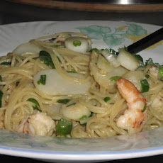 Asian Shrimp and Pasta