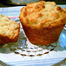 Honey Lime Oat Muffins