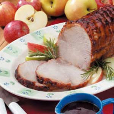 Pork Roast with Tangy Sauce
