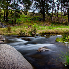 by David Spillane - Landscapes Waterscapes ( water, riverside, rocky, country, river )
