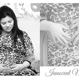 Innocent Moments by Shrey Chohan - People Maternity ( love, maternity, children, mom )