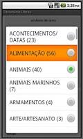 Screenshot of Dicionário Libras