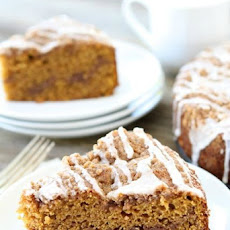 Pumpkin Cinnamon Streusel Coffee Cake