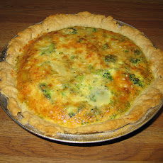Lemon-broccoli Quiche