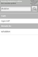 Screenshot of SAOL