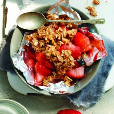 Strawberry Coconut Crisp