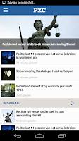 Screenshot of PZC nieuws