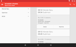 Screenshot of Info KRL