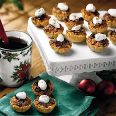 Pecan-Raisin Mini-Tarts