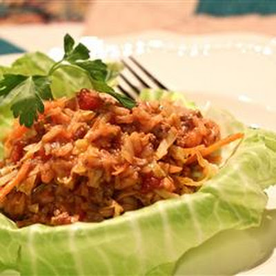 Golompke (Beef and Cabbage Casserole)