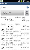 Screenshot of Bike Trace Pro - GPS tracker