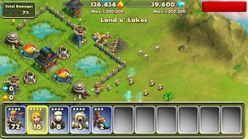 Screenshot of Battle Beach