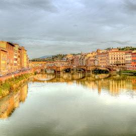 The Arno River by Peter Spagnuolo - Landscapes Travel