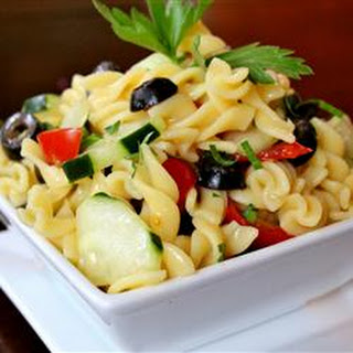 Cold Pasta Salad Olives Recipes