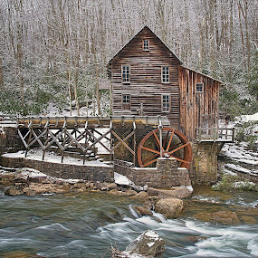 Glade Creek Mill #2 by Bud Schrader - Buildings & Architecture Public & Historical ( mill, old mills, glade creek, west virginia, babcock state park )