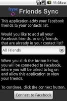 Screenshot of Friends Sync