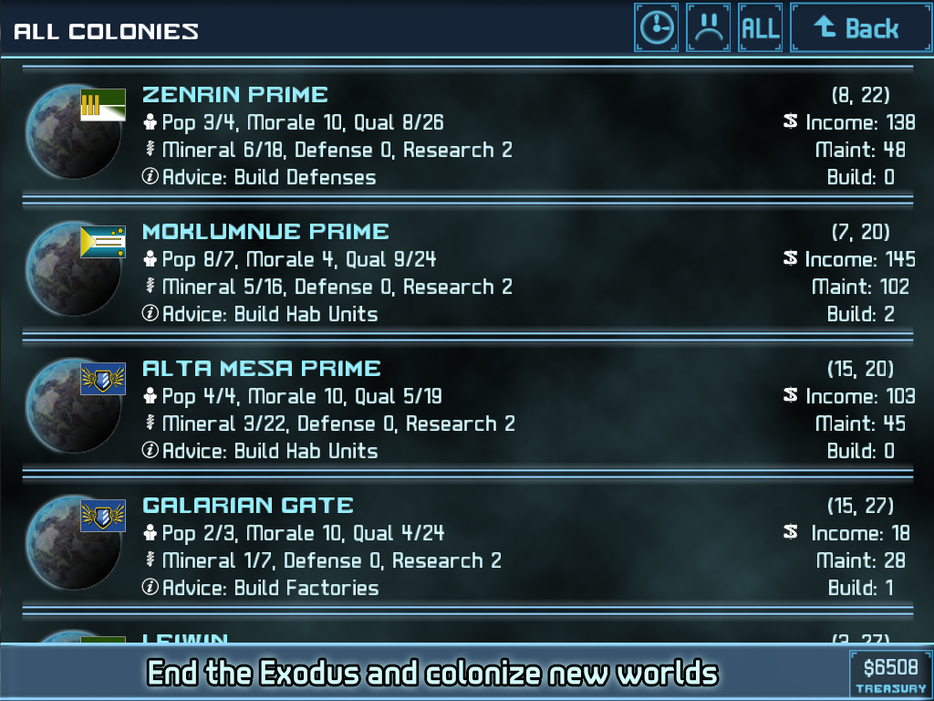 Star Traders 4X Empires Elite Screenshot 19