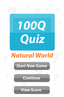 Screenshot of Natural World - 100Q Quiz
