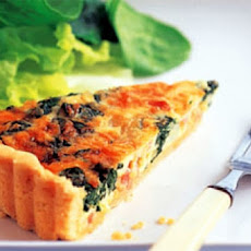 Bacon-Spinach Quiche
