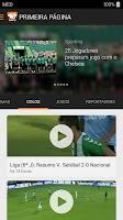 Screenshot of SAPO Desporto