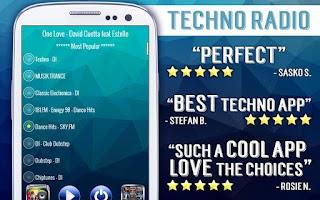 Screenshot of Free Techno Radio