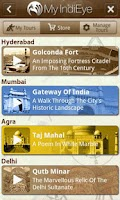 Screenshot of India GPS Video Tours