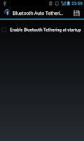Screenshot of Bluetooth Auto Tethering
