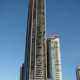 One of the tallest buildings in Brisbane by Sananda Majumdar - Buildings & Architecture Office Buildings & Hotels
