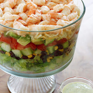 Mexican Shrimp Cobb Salad