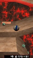 Screenshot of Lava Ball 3D Free