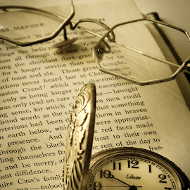 Watch II by Shawn Oneill - Artistic Objects Antiques ( glasses, watch, artistic, antiques )